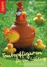 Tontopffiguren für den Frühling - Sigrid Heinzmann