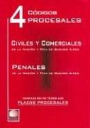 4 Codigos Procesales por Leyes y. Codigos Argentina