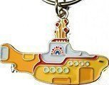 Beatles Yellow Submarine Gelbes U-Boot Metall Schlüsselanhänger (RO)