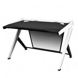 Preisvergleich Produktbild DXracer GD / 1000 / NW Schwarz,  Weiß Computer-Schreibtisch – Büros von Computern (Holz,  Kunststoff,  Stahl,  schwarz,  weiß,  50 kg,  1000 mm,  32 kg)