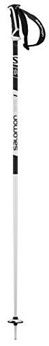 Salomon, Bâtons de Ski Unisexe, 115 cm, Aluminium, X 08, Noir, L40558600