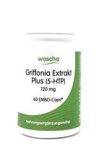 woscha Griffonia Extrakt 60 veg. Kapseln (vegan) -