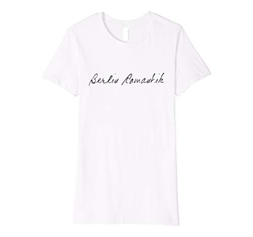 Damen T-Shirt Handschrift Berlin Romantik