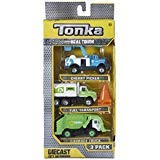 Tonka Real Tough Diecast City Defenders 3-Pack: Cherry Picker, Fuel Transport, Garbage Truck