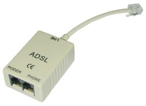 Lindy 75109 - Módem ADSL, color gris