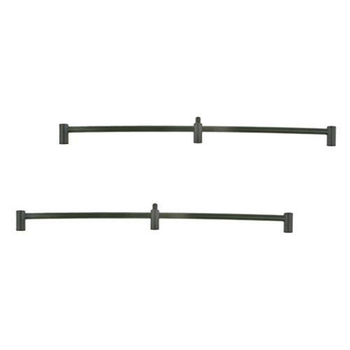 perfk 2 Stück Karpfenangeln Angelrute Pod Buzz Bars Für 3 Angelruten Bank Sticks Halter (Bank-angelrute-halter)