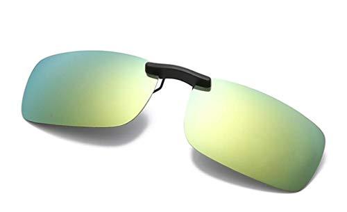 NAVARCH Unisex Polarisierte Sonnenbrille für Brillenträger Überzieh-Sonnenbrille überzieh sonnenbrille für Herren und Damen Sonnenbrillen-Clip brillen aufsatz