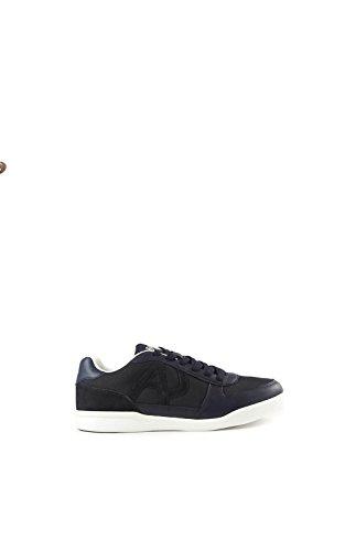 Armani Jeans Sneaker Low Homme Baskets Mode Bleu Bleu
