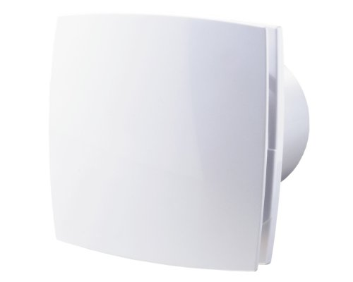 Abluftventilator im zeitlosen Design, mit Nachlauftimer