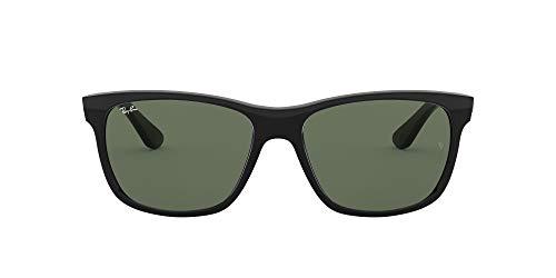 Ray-Ban RAYBAN 0rb4181 601 58 Montures de lunettes, Noir (Black/Crystal Green), Homm