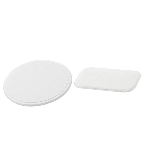 MagiDeal 2pcs Silicone False Lashes Holder Pad Tray Pour Les Extensions De Cils Réutilisables