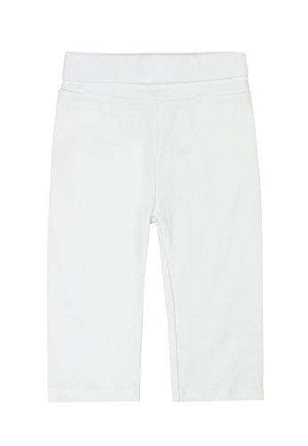 Steiff Unisex - Baby Hose 0006616 Jogginghose, Gr. 68, Weiß (Bright White 1000)