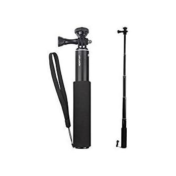 apeman Einbeinstativ Verlängerungsstange Selfie Stick für Actionkamera A66/A60/A70/A80 und Smartphones