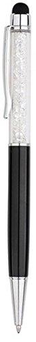 QUALITÀ 2 - in - 1 capacitivo touchscreen stilo e penna a sfera con cristalli Swarovski. RICARICHE gratis 2