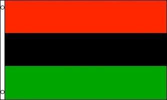 Afroamerikaner Afrika Erbe Flagge Fahne 91x152 cm Polyester by OnebasispointEU