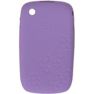 Blackberry Curve 8520 Skin (Blackberry Curve 8520geprägt Silikon Haut Fall-Lila Lavendel OEM Original hdw-24539-001)