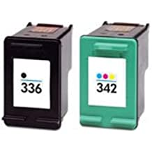 Prestige Cartridge 2 x HP 336 HP 342, Cartuchos de tinta, color y negro