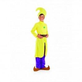 Zwerg - Gelb - Kinder Kostüm (7 Zwerge Kostüme Uk)