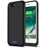 Battery Case for iPhone 6s Plus/6 Plus, LCLEBM 6800mAh Portable Protective Battery Case