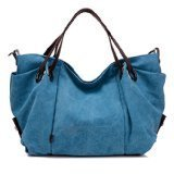 KISS GOLD(TM) Women's Canvas Hobo Top-handle Bag Crossbody Shoulder Bag, European Style