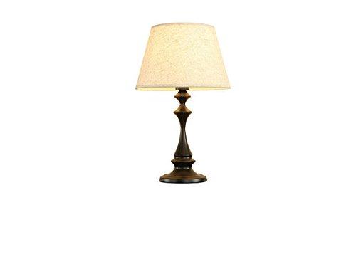 Lampe De Table Moderne Avec Toile De Lin Colorée Lampe De Chevet De Chambre À Coucher 19.69inch