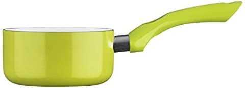 Premier Housewares Ecocook Milk Pan, 14 cm - Lime Green