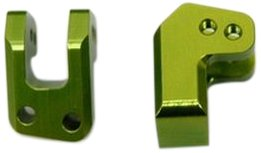 ST Racing Concepts STA80094G Aluminum Heavy Duty Rear Lower Shock Mounts for The Exo Buggy, Green