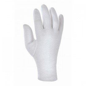 12 Paar Baumwoll-Trikothandschuhe, weiß, Baumwollhandschuhe, Trikothandschuhe, verschiedene Größen -