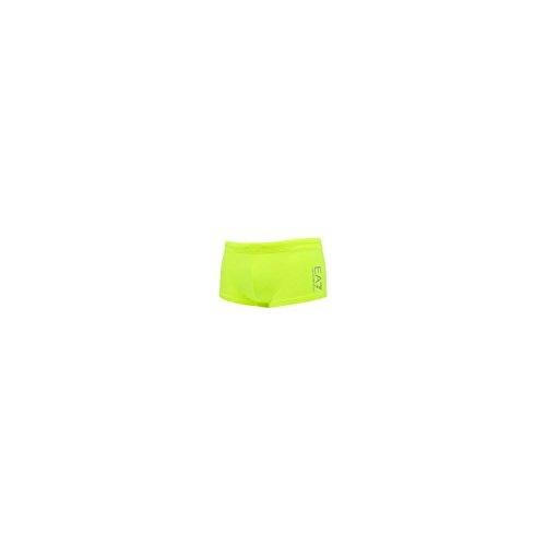 Emporio Armani Herren Sea World Swimwear Core Trunks Badehose, Green Neon, X-Large