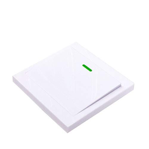 Altsommer Wireless Wandlichtschalter Kit, Remote Lichtschalter - Keine Batterie, Umstellen Des Lampenschalters Lueftergeraete Ein/Aus, Self-Powered-Schalter Fernbedienung -
