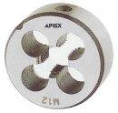 Apiex - Filière Ronde, Filetage Métrique, Pas Gros - M 8 X 1,25