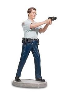 Katerina Prestige-Figura Policía con Pistola Taser, pol003