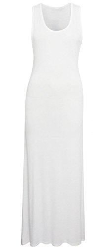 Generic Damen Etui Kleid Weiß