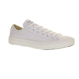 Converse Allstar  AS OX CAN,  Casual Unisex - Erwachsene White Mono Leather