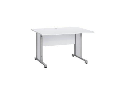 MAJA-Möbel 1223 8839 Schreibtisch, Icy-weiß, Abmessungen BxHxT: 120 x 75 x 80 cm