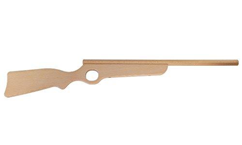 Erlebnis-Mittelalter - Gewehre aus Holz für die kleinen Cowboys und Piraten / Karneval / Fasching (Gewehr Arcansas geölt)