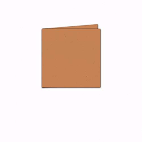 Faltkarte/Doppelkarte - Greenline Pastell Misty Melon / 100 Stück/Quadratisch 155 x 155 mm