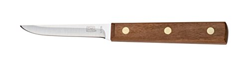 Chicago Cutlery 7.62 cm Stainless Steel Walnut Tradition Paring/Boning Knife with Wooden Handle, Brown