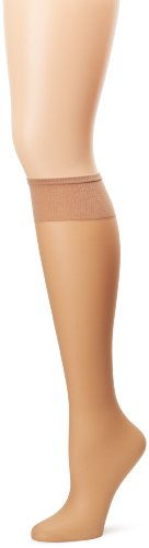 Hanes Silk Reflections Women's Plus-Size 2 Pack Knee High