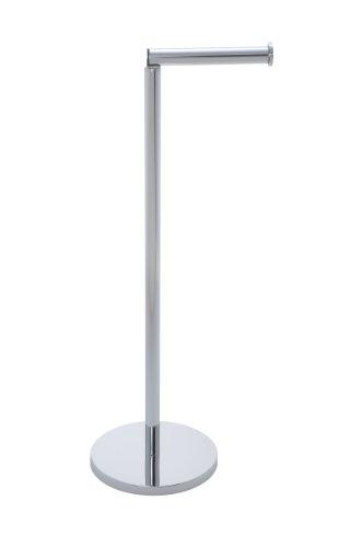 Charmant WENKO 19637100 Stand Toilettenpapierhalter 2 In 1, Edelstahl Rostfrei, 25.5  X 54 X 18