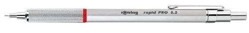 rOtring Rapid PRO Mechanical Pencil, 0.5 mm, Silver Chrome by Rotring