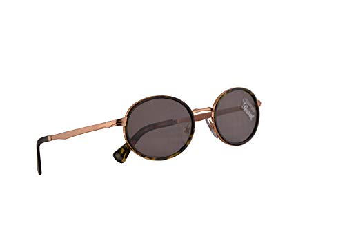 Persol 2457-S Sonnenbrille Kupfer Mit Grauen Gläsern 52mm 1080R5 PO 2457S PO2457S PO2457-S