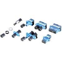 Rotronic ROLINE 21170145 LWL-Adapter LC Duplex, Multimode, PB blau (Kabel-gehäuse Ferrule)