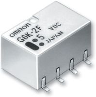 RELAY, SMD, DPDT, 1A, 24VDC - G6K-2G-Y 24DC - OMRON ELECTRONIC COMPONENTS