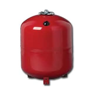 50 Litres Red Replaceable Membrane Heating Expansion Vessel Tank with 3/4