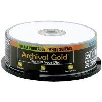Delkin Europe 25 CD-R Archival Gold Stockage de Photo numérique