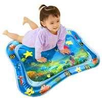 Volwco Wassermatte Baby - Premium Baby Wasser Spielmatte Aufblasbare Tastmatte Spielzeug,Perfekte Spaßzeit Play-Aktivitätscenter Für Kinder, Baby, Kleinkinder