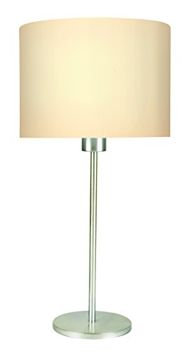 Philips Fabric 38437 Base E27 11-Watt LED Table Lamp (White)