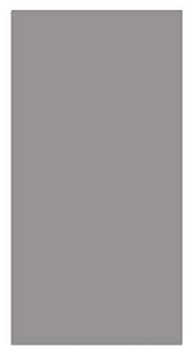 Panorama Alfombra Vinílica Lisa Gris 80x250cm - Alfombra Cocina Vinilo - Alfombra Salón Antideslizante...