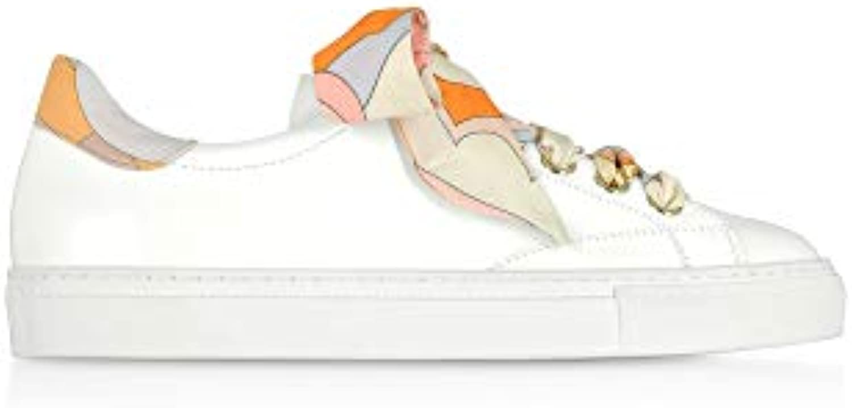 Emilio Pucci scarpe da ginnastica Donna 9ECE909EX06A61 9ECE909EX06A61 9ECE909EX06A61 Pelle Bianco | Di Nuovi Prodotti 2019  | Sig/Sig Ra Scarpa  b4d5a5